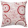 Чехол на подушку ВИНТЕР 2019 красный, 50x50 см ИКЕА, IKEA