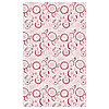 Скатерть ВИНТЕРФЕСТ белый/красный 145x240 см ИКЕА, IKEA