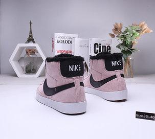 Женские зимние кеды Nike SB Zoom Blazer с мехом (36-40), фото 2