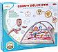 Развивающий коврик для новорожденного Funkids «Comfy Delux Gym» с мягкими бортиками (розовый), фото 5