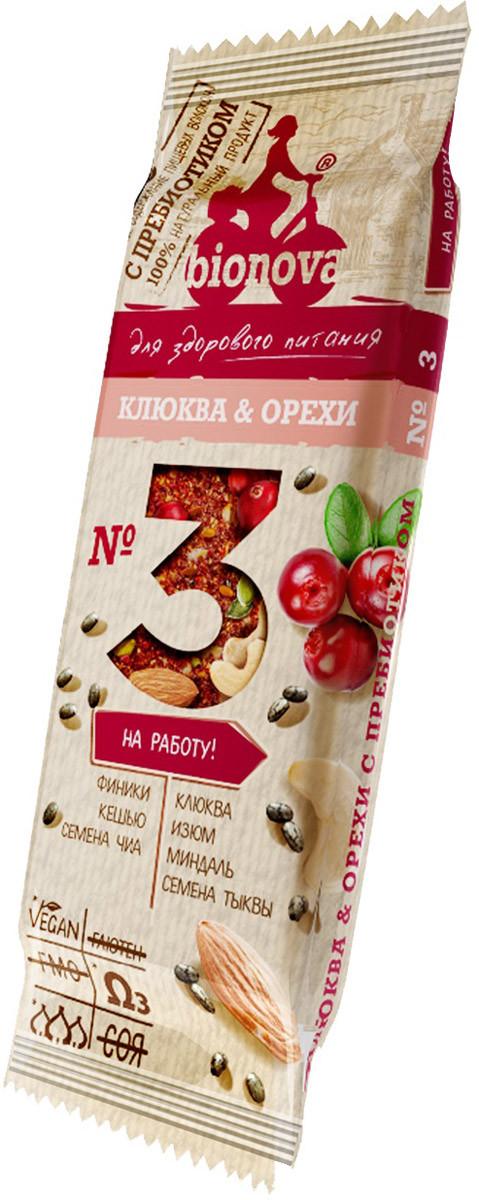 Батончик фруктово-ореховый с пребиотиком №3