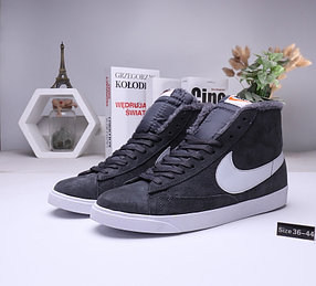 Зимние кеды Nike SB Zoom Blazer с мехом (36-45)