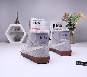 Зимние кеды Nike SB Zoom Blazer с мехом (36-45), фото 2