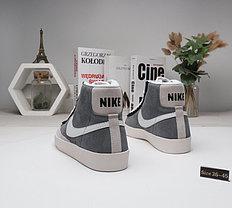 Зимние кеды Nike SB Zoom Blazer с мехом (36-45), фото 3