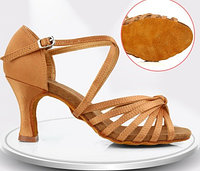 Туфли для бальных танцев, бежевые ( взрослые). Размер: 35-41 38