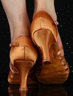 Туфли для бальных танцев, бежевые ( взрослые). Размер: 35-41 40