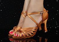 Туфли для бальных танцев, бежевые ( взрослые). Размер: 35-41 41