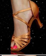 Туфли для бальных танцев, бежевые ( взрослые). Размер: 35-41 36
