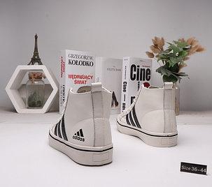 Зимние кроссовки Adidas ( 36-44)  Мех+Кожа, фото 2