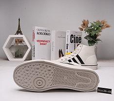Зимние кроссовки Adidas ( 36-44)  Мех+Кожа, фото 3