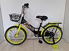 """Детский велосипед Hawks 18"""". С дополнительными колесиками, фото 2"""
