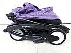 Легкая коляска Babytime Фиолетовая. Коляска для путешествий. Оригинал., фото 3
