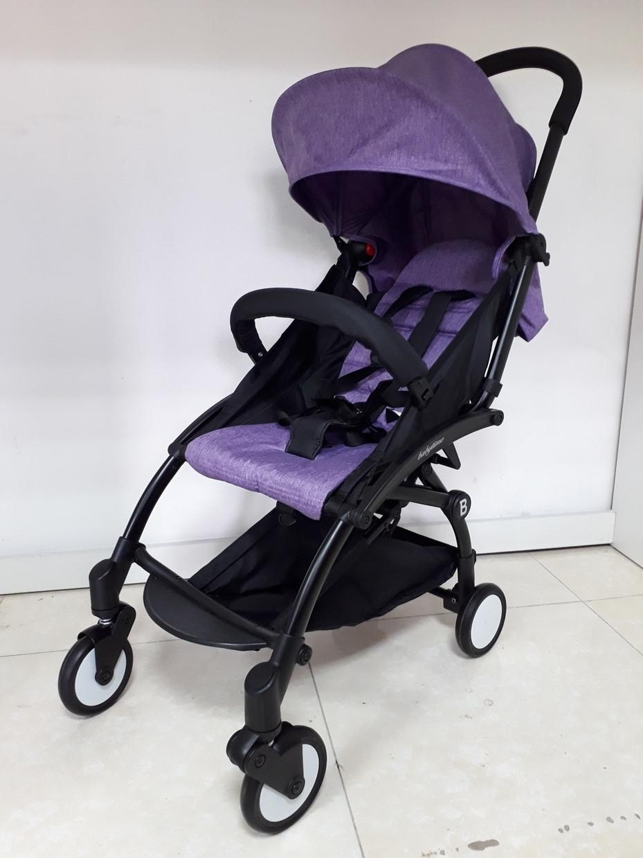 Легкая коляска Babytime Фиолетовая. Коляска для путешествий. Оригинал.