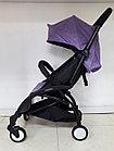 Легкая коляска Babytime Фиолетовая. Коляска для путешествий. Оригинал., фото 2