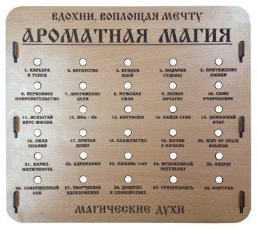 "СТЕНД ""АРОМАТНАЯ МАГИЯ"", НА 30 ШТУК, БЕЗ КОМПЛЕКТА ДУХОВ"