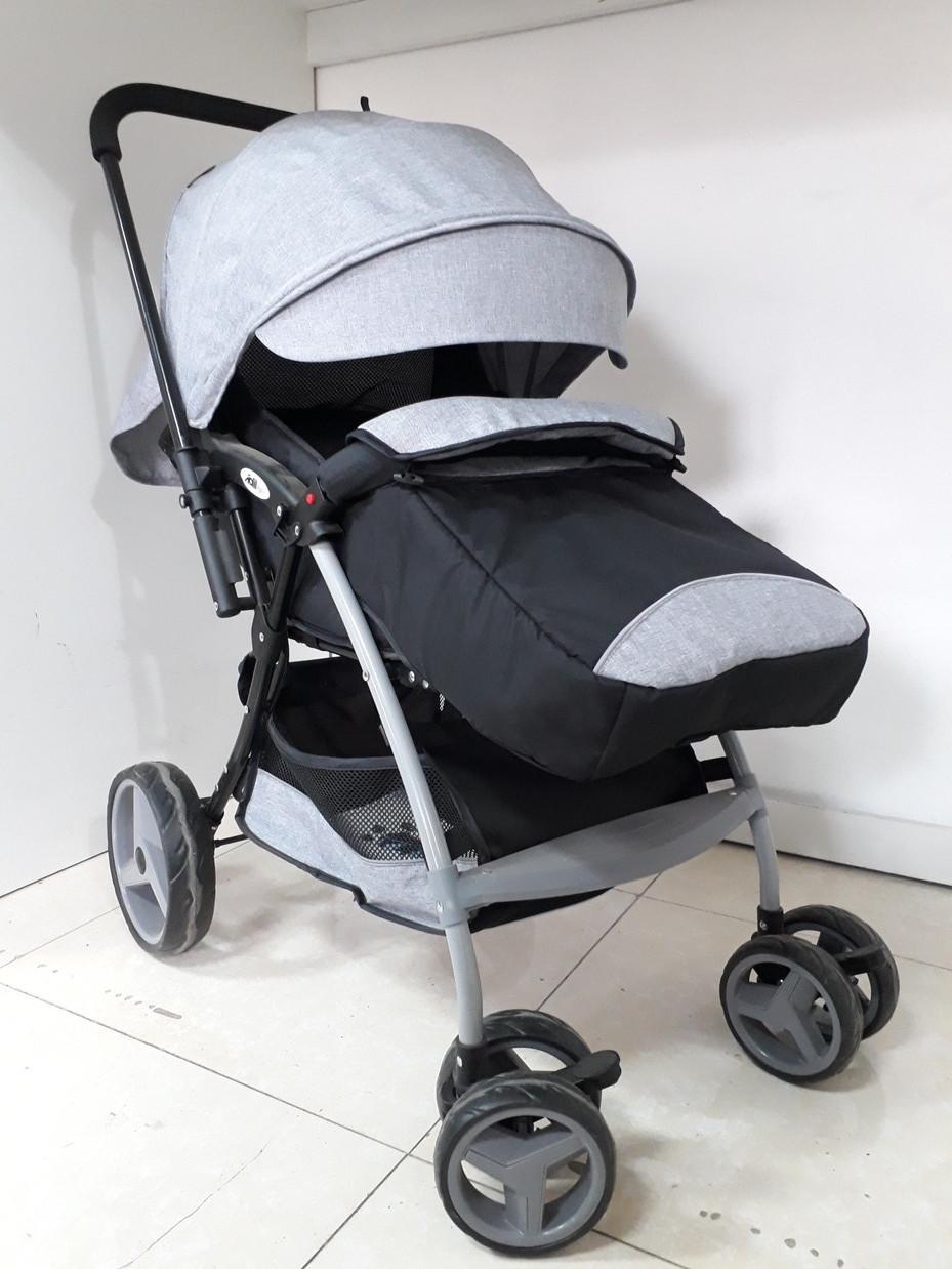 Классная прогулочная коляска для детей Adil с перекидной ручкой
