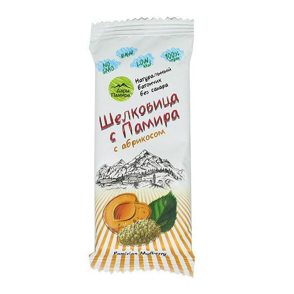 Батончик «Шелковица с Памира» с абрикосом