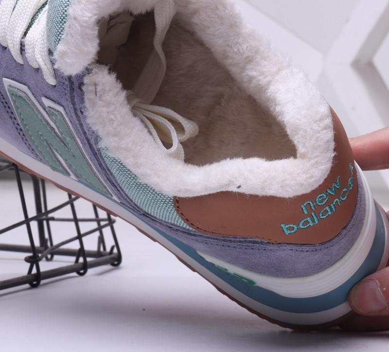 Зимние кроссовки New Balance с мехом (36-44) - фото 4