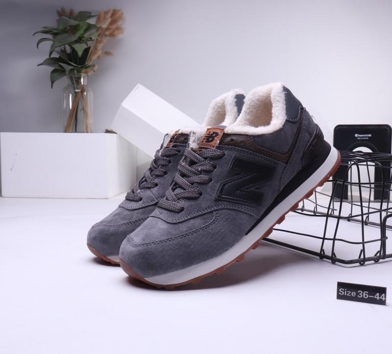 Зимние кроссовки New Balance с мехом (36-44) - фото 1
