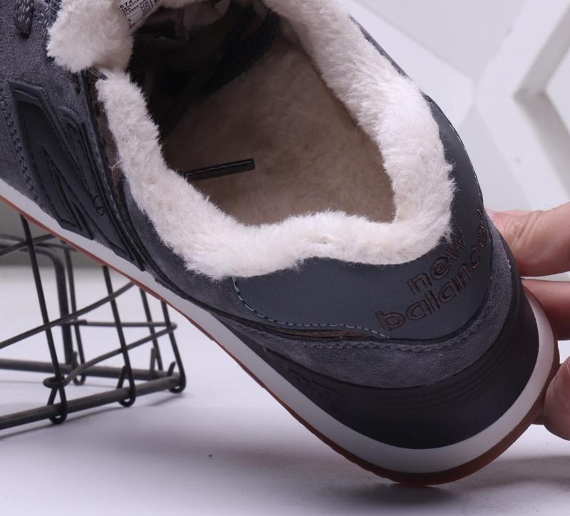 Зимние кроссовки New Balance с мехом (36-44) - фото 3