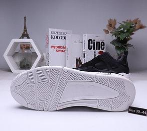 Зимние кроссовки Air Jordan 4 Off White с мехом (39-44), фото 2
