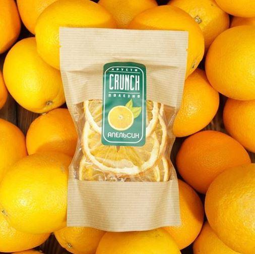 Фруктовые чипсы Апельсин, 50 г