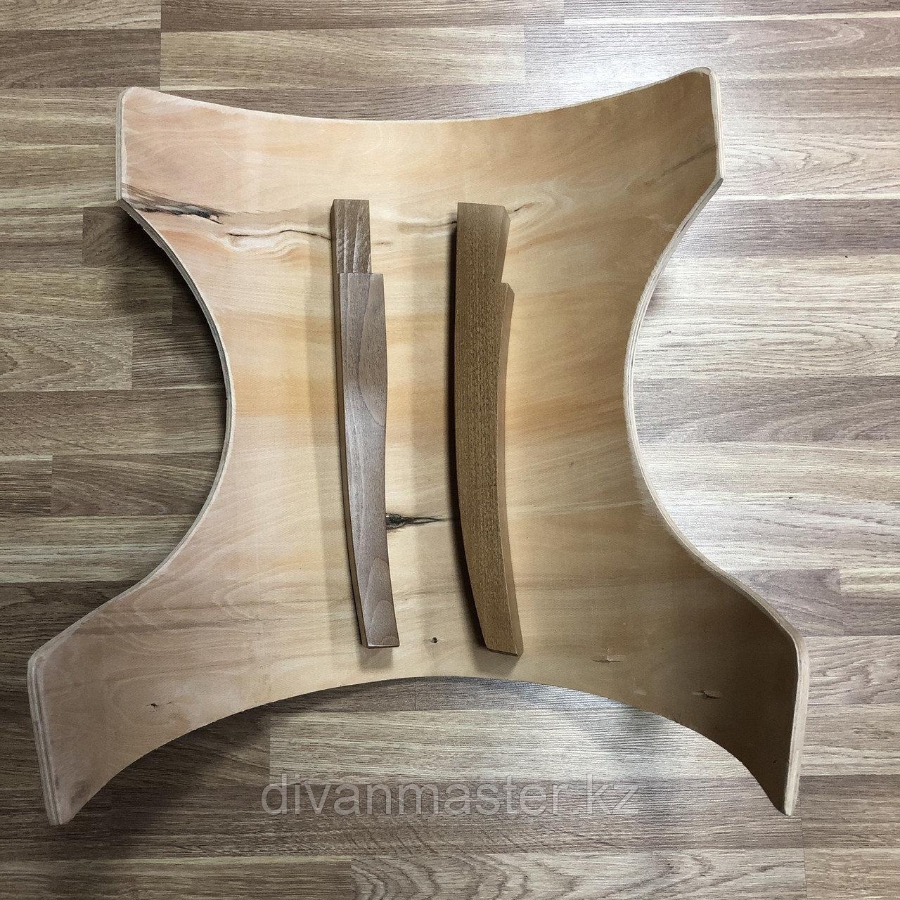 Ножки для стульев, 4 штуки, 35 см, бук. Орех