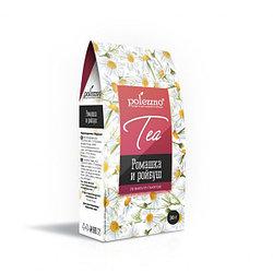 Ромашковый чай с ройбушем