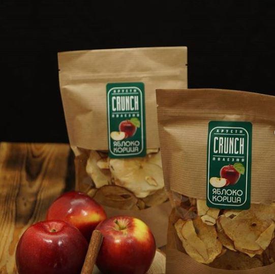 Фруктовые чипсы. Яблоко с корицей, 40 г