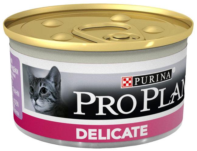 Консервы ПроПлан для привередливых кошек