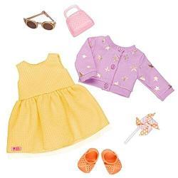 Our Generation Deluxe Набор одежды для кукол Летнее платье