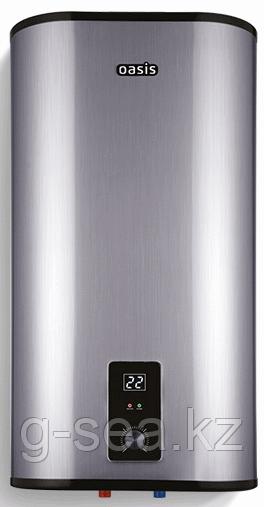 Электрич.накопит-ный водонагреватель Oasis Z-100 (плоский металик)