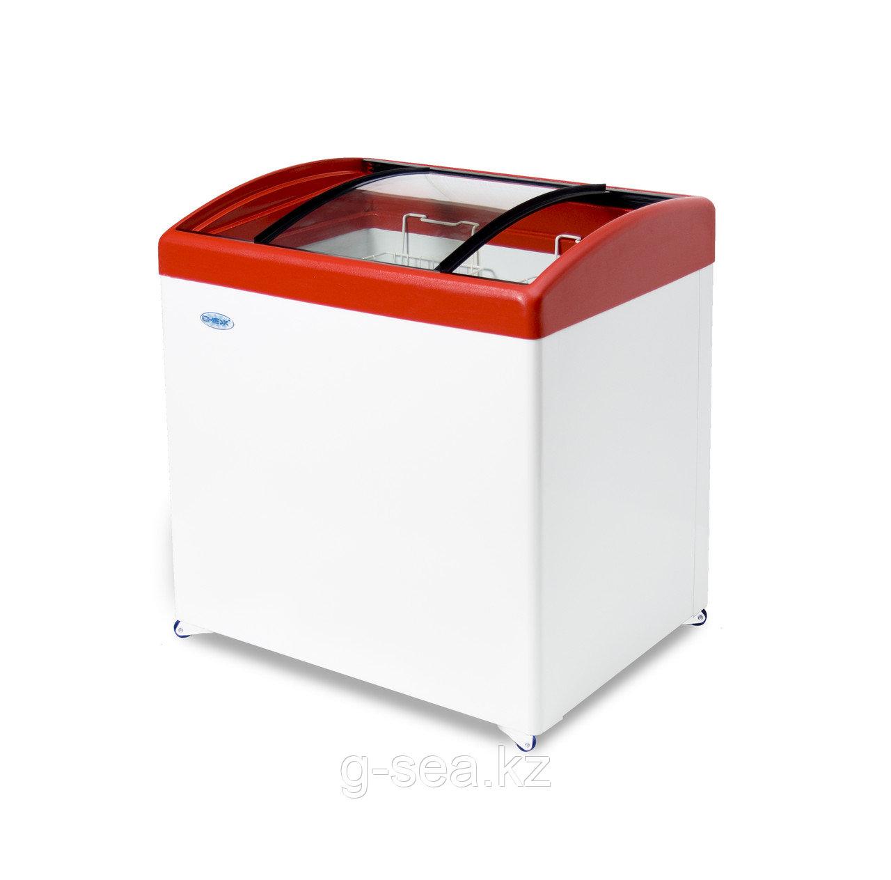 Морозильный ларь Снеж МЛГ-250, красный