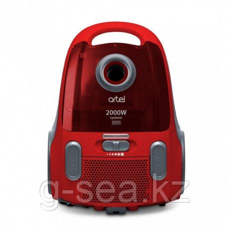 Пылесос Artel VCU 0120, красный