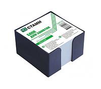"Блок для записей СТАММ ""ЭКО"" белый в подставке 9х9х5 см"
