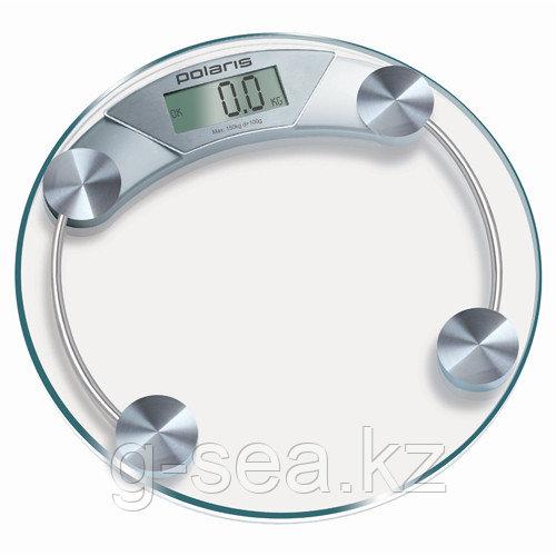 Весы электрон.Polaris PWS 1514DG стекло, серебро