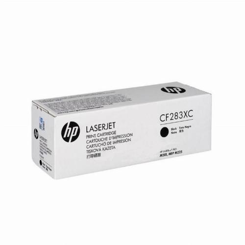 Лазерный картридж HP CF283XC (Оригинальный, Черный - Black) CF283XC