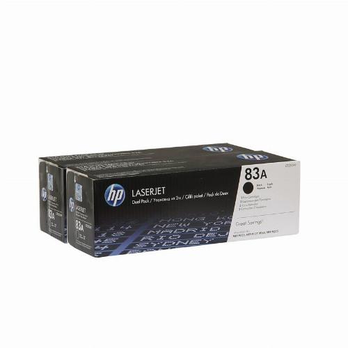 Лазерный картридж HP 83A (Оригинальный, Черный - Black) CF283AF