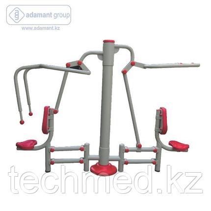 2-х позиционный тренажер тяга сверху и жим от груди 2, фото 2