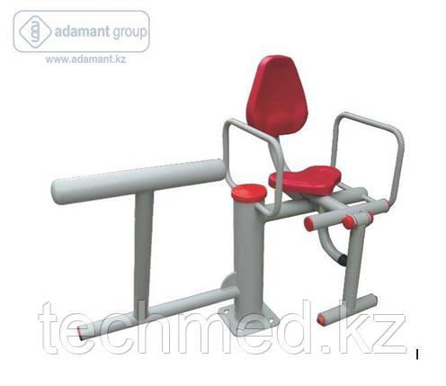 2-х позиционный тренажер упражнения для ног гимнастический, фото 2
