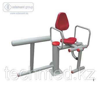 2-х позиционный тренажер упражнения для ног гимнастический