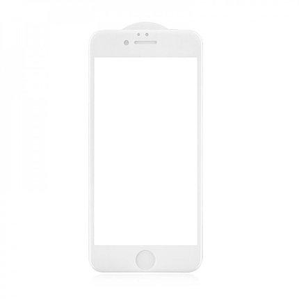 Защитное стекло 3D A-Case Apple iphone 6 Plus, 6S Plus, Окантовка White, фото 2