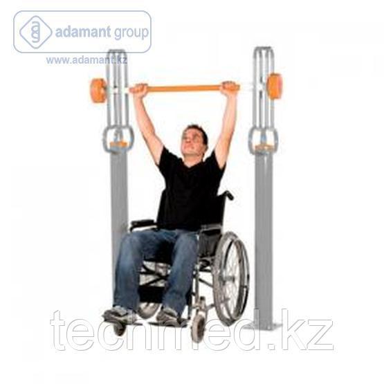 Тренажер для инвалидов. Штанга