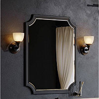 LaDonna Панель с зеркалом , цвет черный LAD0207BLK