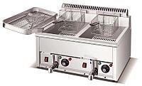 Фритюрница электрическая 12+12 литров для курицы и фри.