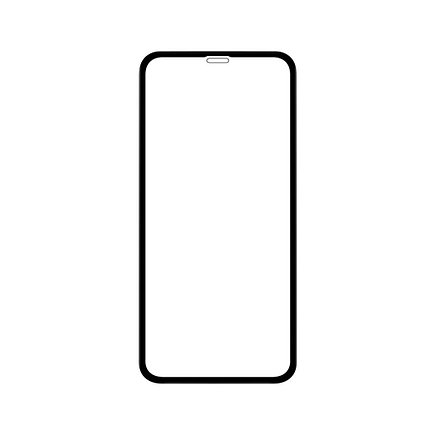 Защитное стекло 3D A-Case Apple iphone Xr, iphone 10r Окантовка Black, фото 2