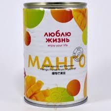 "Пюре манго ""Люблю жизнь"""