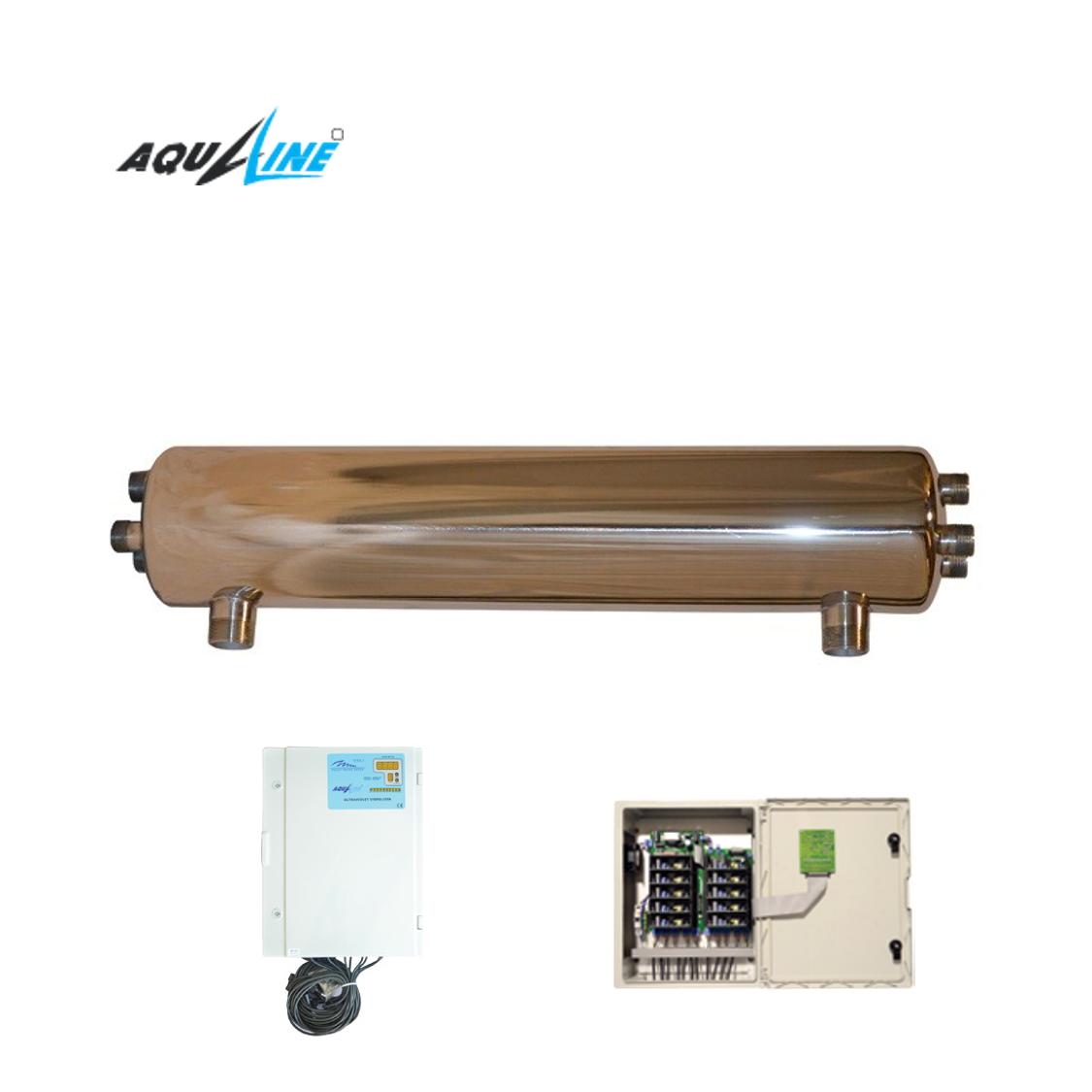 УФ установка обеззараживания воды Aqualine E -120 PRO ( произв-ть 20 м3/час)