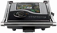 Гриль REDMOND SteakMaster  RGM-M800, черный/сталь, фото 1