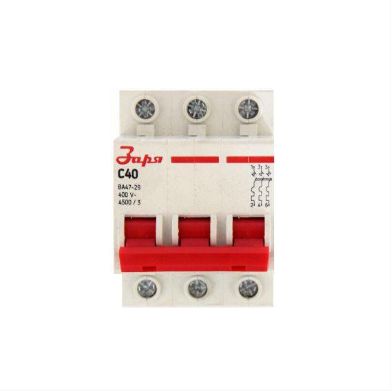 Автоматический выключатель 3Р - 40А